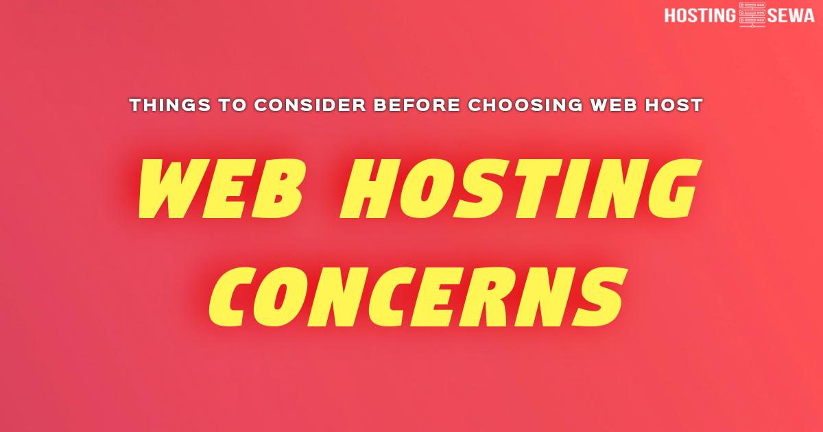 web-hosting-concerns