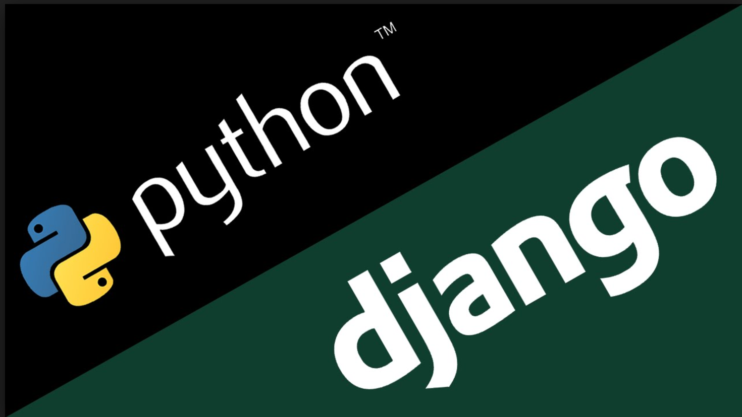 install and configure django