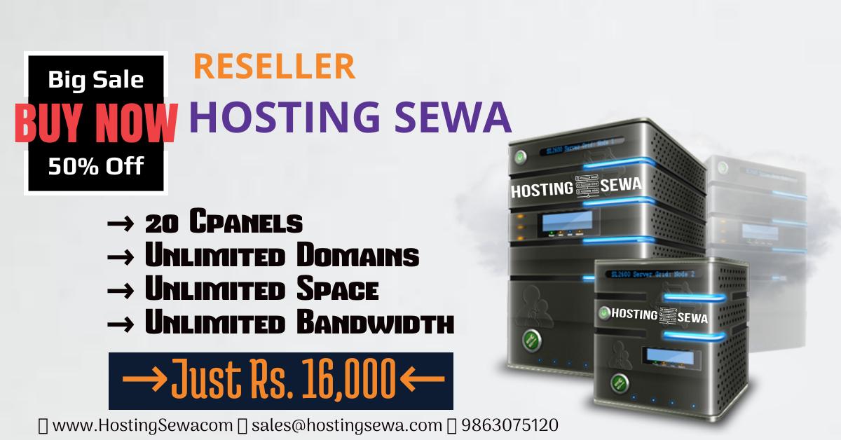 HostingSewa Big Sale on Reseller Host